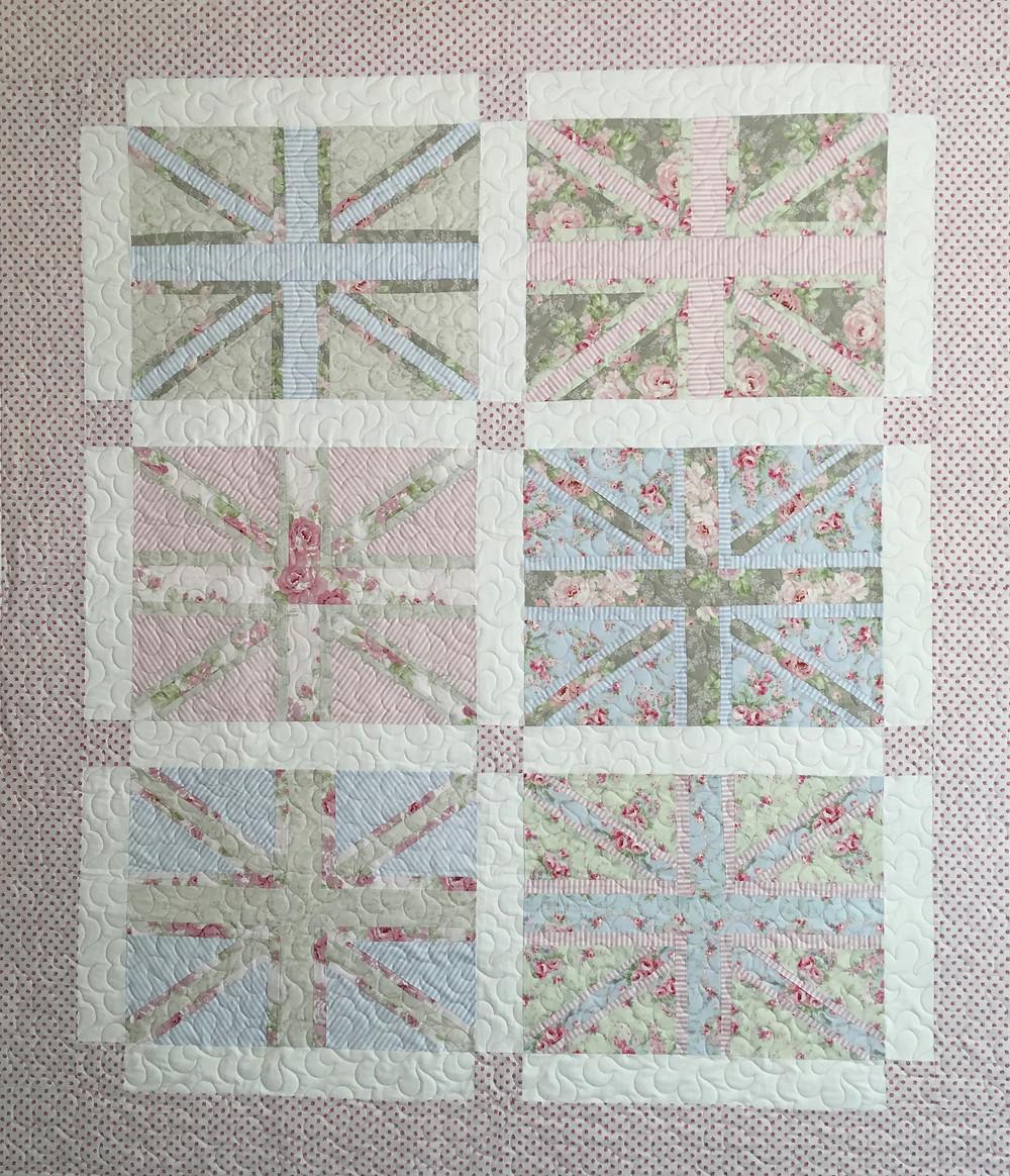 Baby Brit Baby Quilt by Karen Natale
