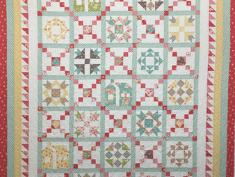 Deb Taylor Country Houses Quilt