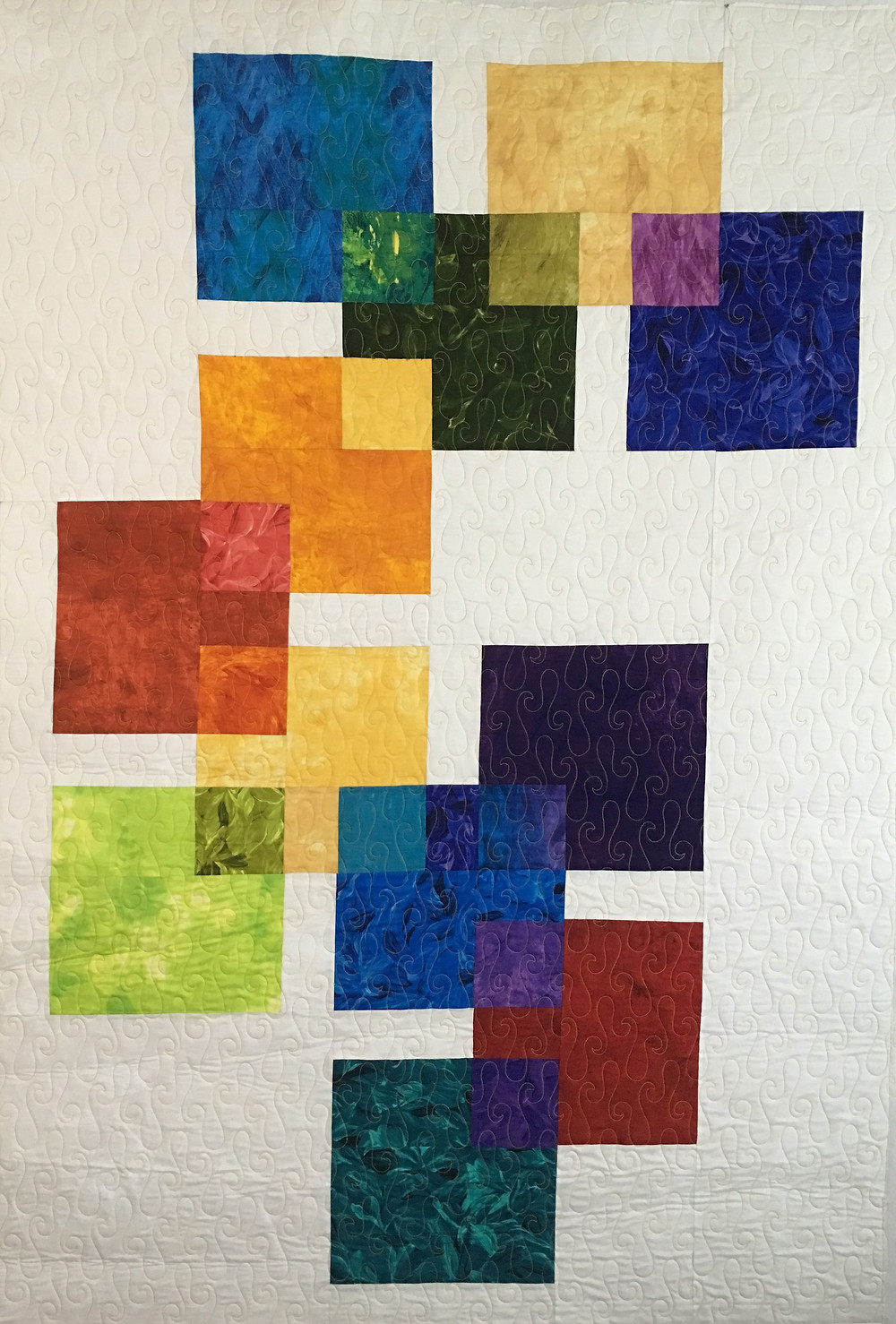 Beth Swatch in Blenders Quilt