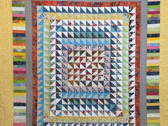 Rose Dillon Tiny Triangles Quilt