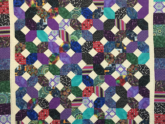 Sandy Benson X and O Quilt