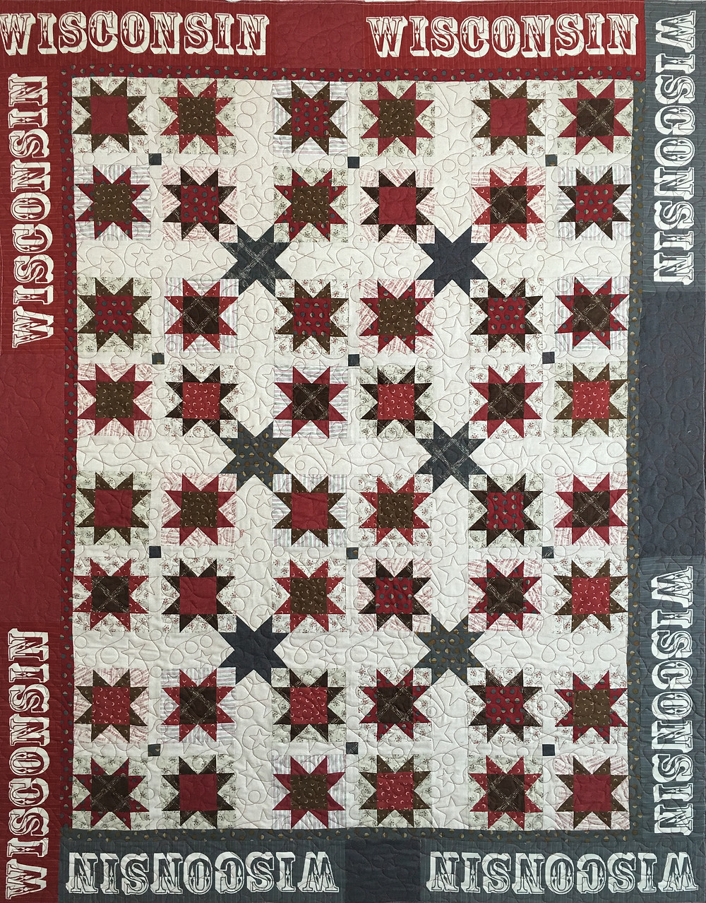 Wisconsin All Stars Quilt by Joan Salesman