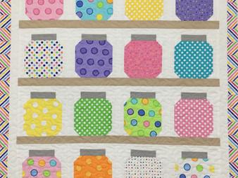 Delfina Guerra Jars of Buttons Quilt