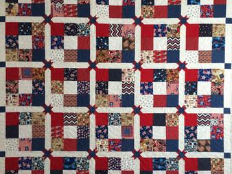 Wendy Bell Patriotic Quilt