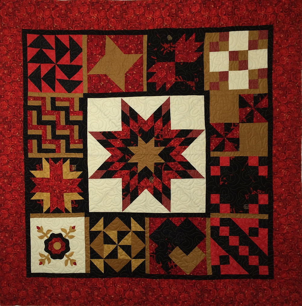 Block of the Month Quilt by Jackie Williams