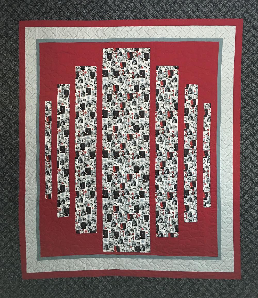 Star Wars Quilt by Nancy Nesbaum