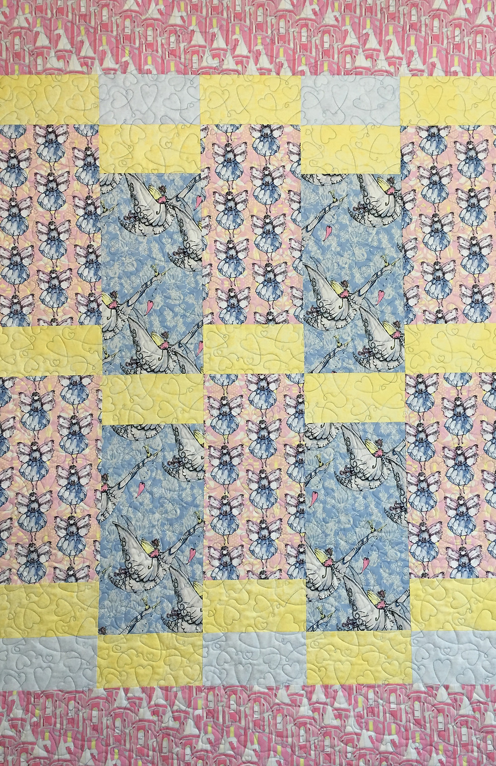 Little Angels Quilt by Nancy Nesbaum