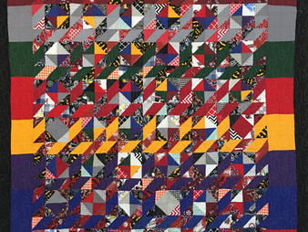 Jefferson Sutton Multi Color Scrappy Quilt