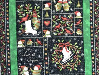 Leslie St. Onge Christmas Quilt
