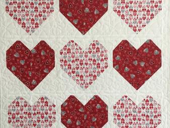 Delfina Guerra Valentine's Hearts Quilt