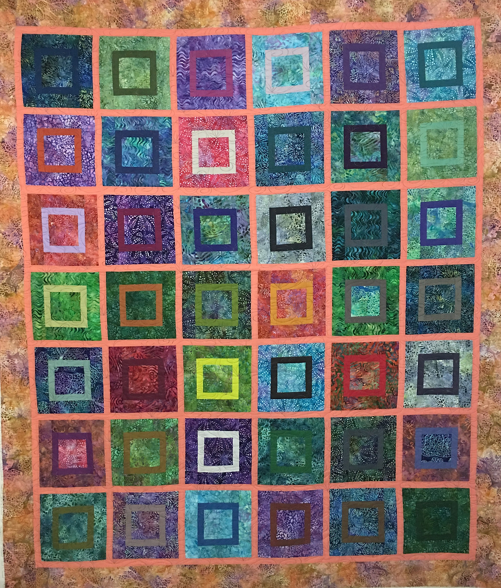 Square Dance Quilt by Penny Wheat