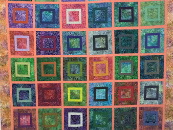 Penny Wheat Square Dance Quilt