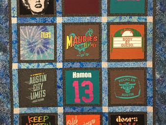 Debbie Seitz T Shirt Quilt