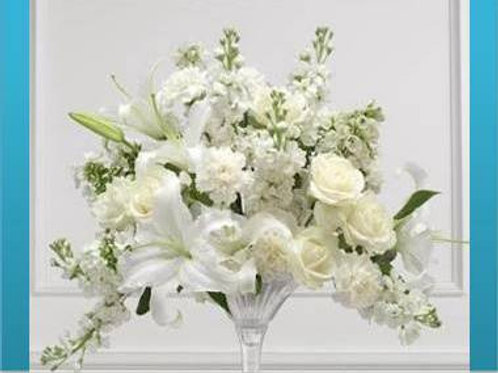 Mix de flores em vaso simples - MOD.038