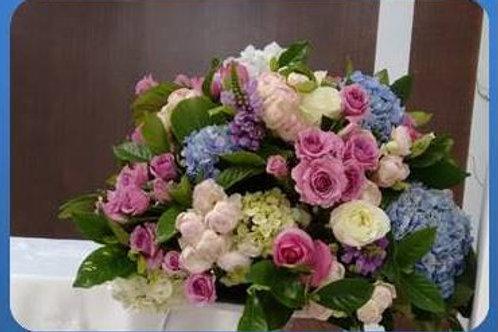 Mix de flores em vaso simples - MOD.034