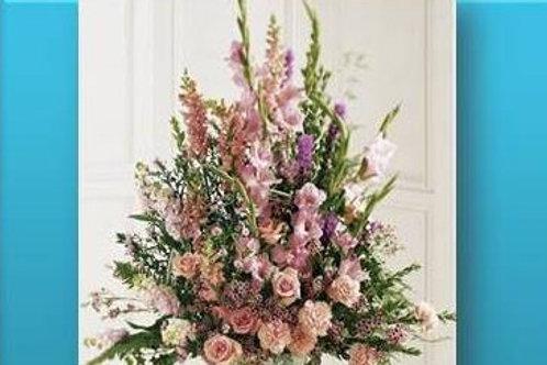 Mix de flores em vaso simples - MOD.030