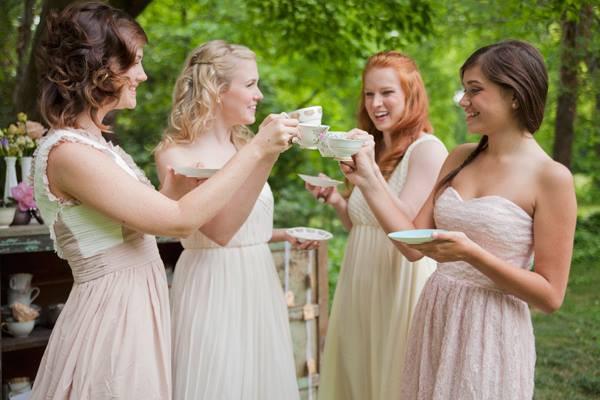 Chá com Noivas