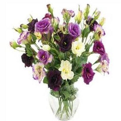 Mix de flores em vaso de acrilico - MOD.015