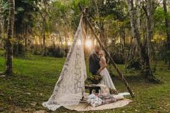 Decoração casamento Boho Decoração casam
