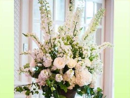 Mix de flores em vaso simples - MOD.028
