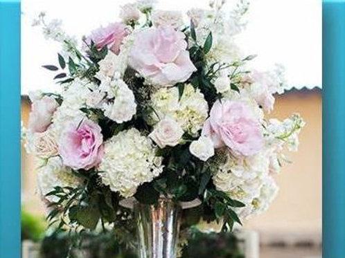 Mix de flores em vaso simples - MOD.032
