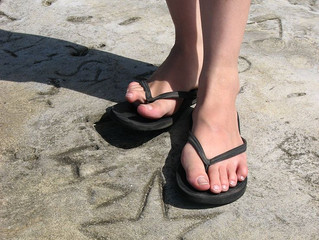 Be careful with those flip-flops!