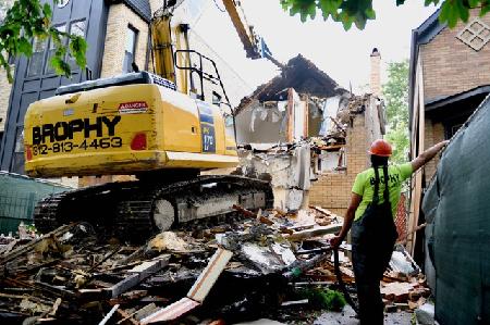When is a building an eyesore?