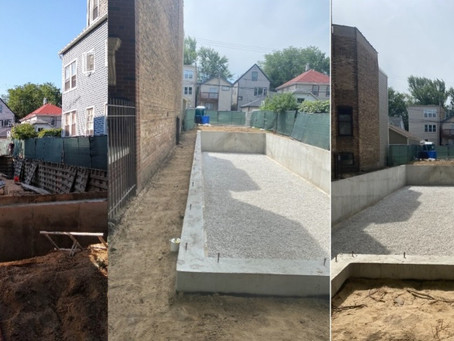Awesome backfill and grade