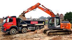 Hawkes Truck and Digger