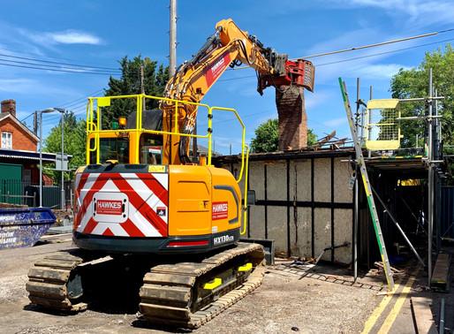 Bourne End Railway Asset Demolition