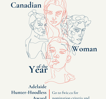 The Adelaide Hunter Hoodless Canadian Woman of the Year Award