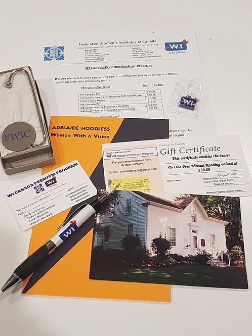 WI Canada Premium Package Program