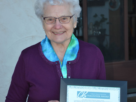 Saskatchewan's Virginia Kreklevich Honoured