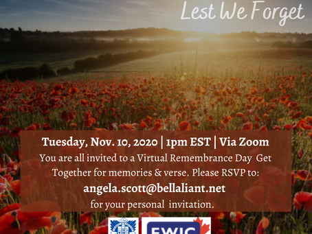 A Virtual Remembrance Day