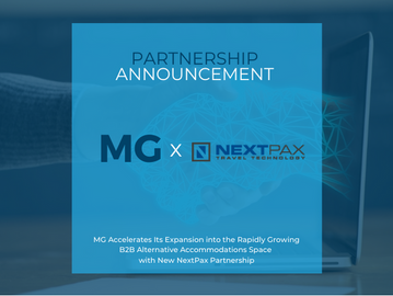 MG  Accelerates Growth in Alternative Accommodations with New NextPax Partnership