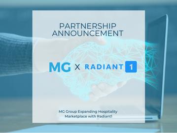 MG Group Expanding Hospitality Marketplace with Radiant1
