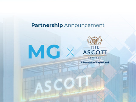 MG Group Announces Direct Connectivity Integration with The Ascott Limited