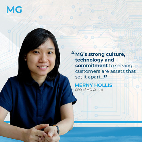 MG New CFO
