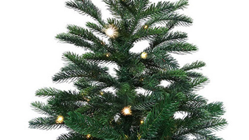 MQR5G2040-30BML Small Christmas Tree with Copper wire lights