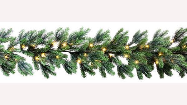 GR56050-50BML  Christmas Garlands w/Lights
