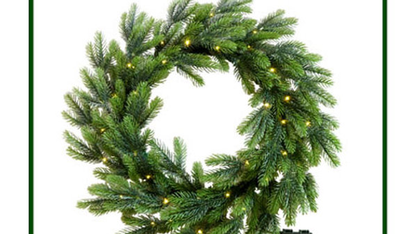 WR52034-30BML  Full PE Wreath