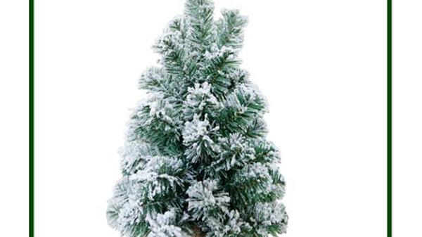 N1550FA2 Small Christmas Tree w/Snow