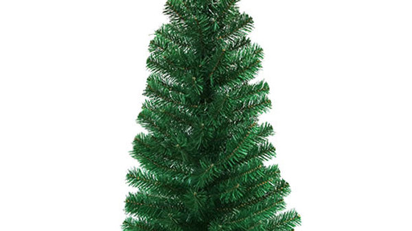 N3010A2  Small Christmas Tree w/Burlap Stand