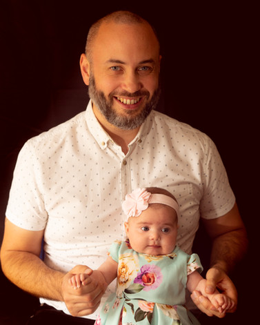 Father & Daughter Portrait Photography