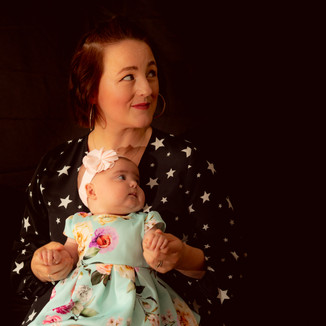 Mother & Daughter Portrait Photography