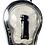 Thumbnail: The Fabulous Phi Ta Mop Ghost Amulet by Ajarn Krit Payak in silver