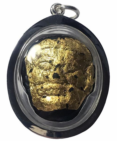 A Prai Phayayak Purisart Amulet by Ajarn Krit Payak in silver