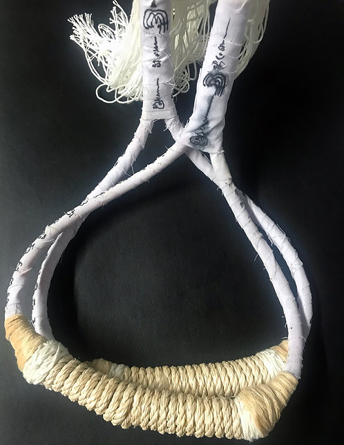 Corpse Cloth and Suicide Rope Muay Thai Monkol for Kong Grapan Protection
