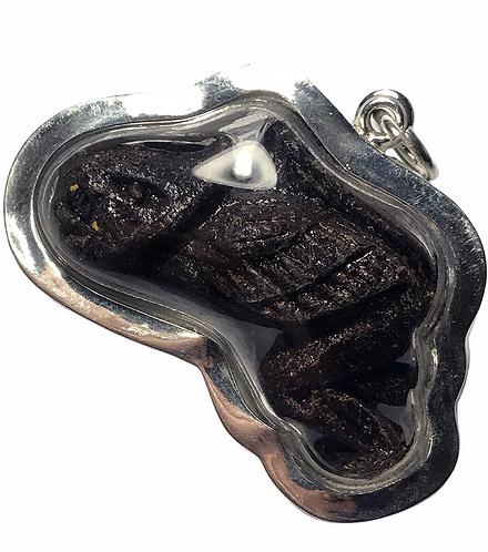 A Petphayatorn Prai Amulet by Luang Phor Suppasit in silver 2013