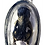 Thumbnail: A Wild E Per Prai Amulet by Ajarn Hut in silver LAST ONE